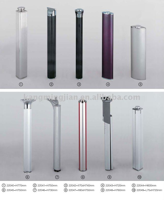 Glass Table Leg/ /Stainless Steel Dining Table Legs
