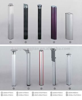 Glass Table Leg/ /Stainless Steel Dining Table Legs Part 85
