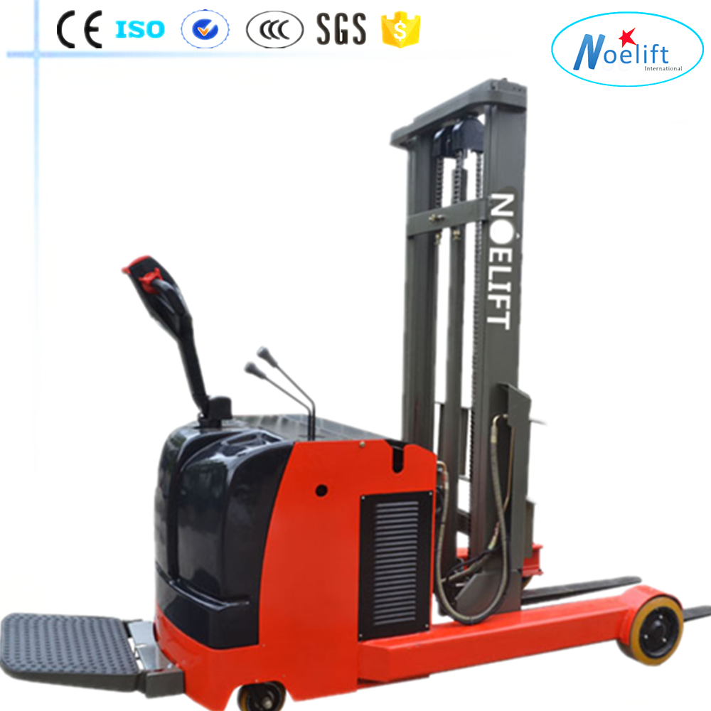 warehouse Electric Pallet Truck and Electric Reach Truck New strong easy controlled mini reach truck/Reach Stacker/ lift truck