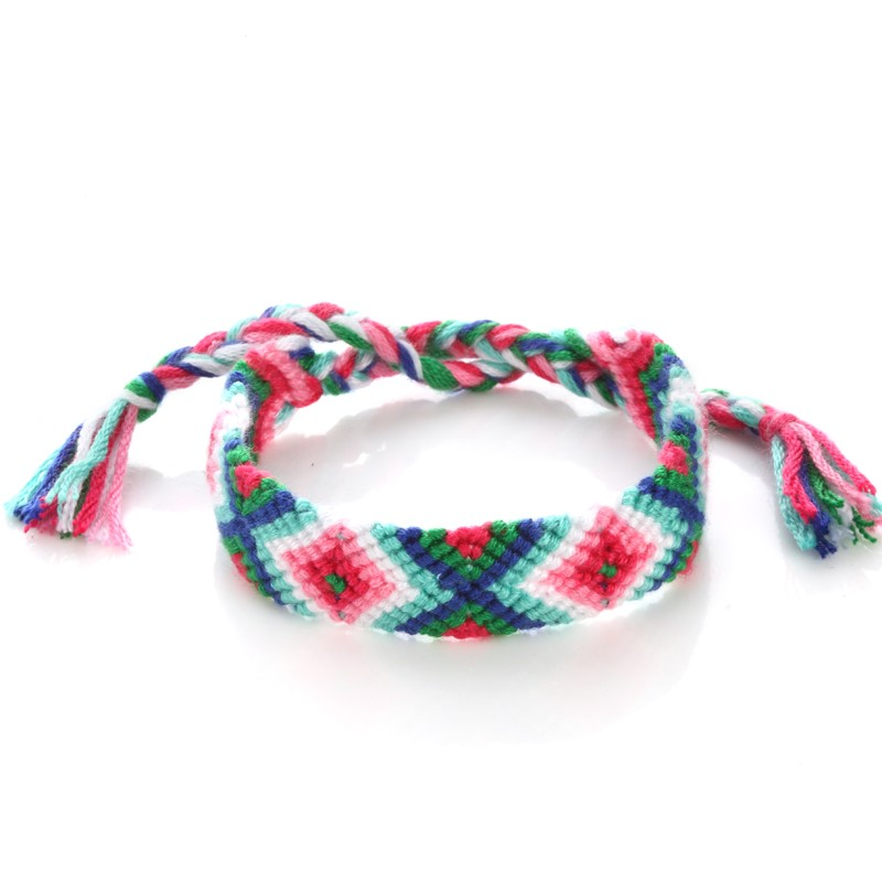 Hot Unisex Thread Braided Nepal Tribal Friendship Cotton Bracelets