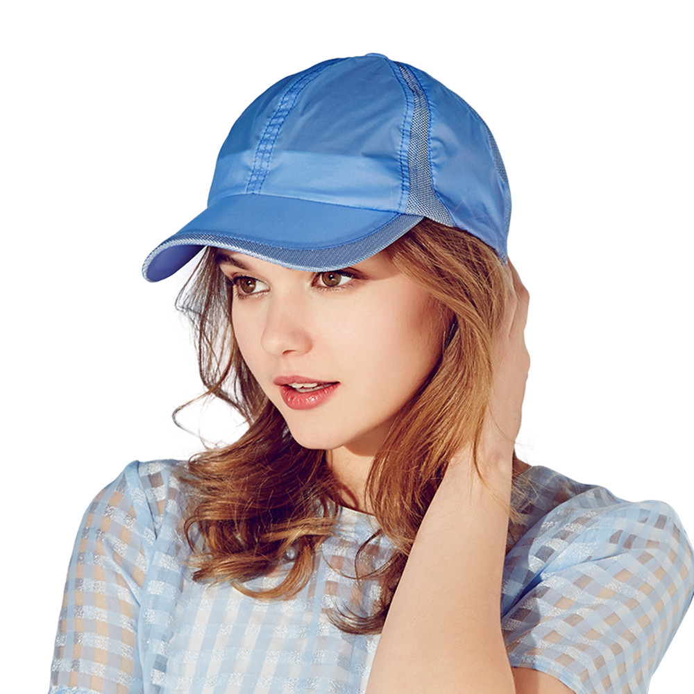 New Kenmont brand Women Girl Summer Spring Baseball Cap Mesh Sun Visor Golf Sports Light Breathable Adjustable Hats 3142