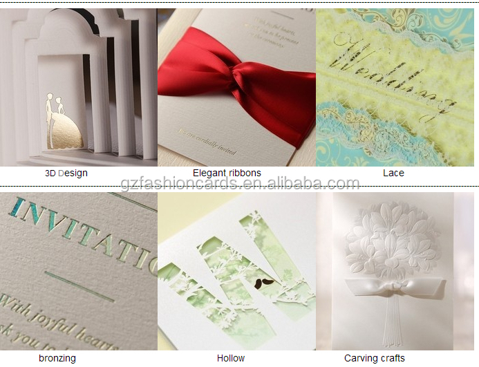 2017 Splendid Pop Up Arabic Roll Wedding Invitation Card