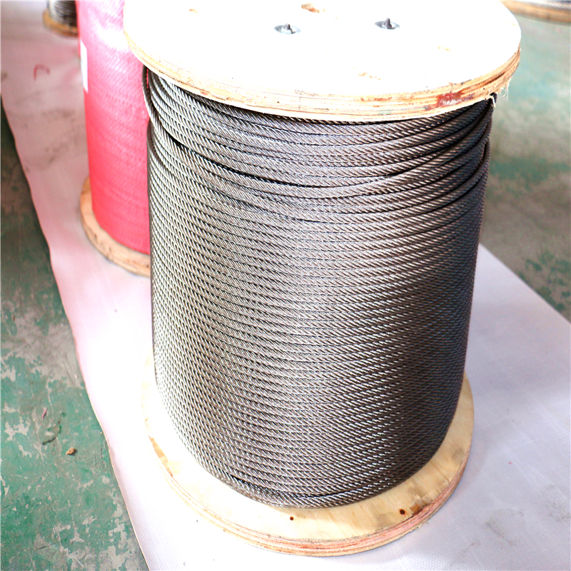 Supplier demands stainless steel wire cable used in track for sale