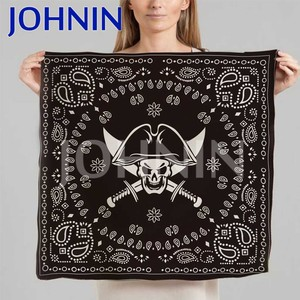 Factory Promotion Cotton Polyester Logo Printed Cheap Custom Bandana