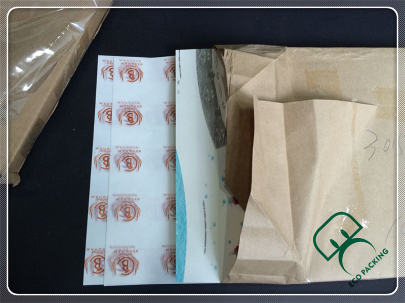 Food grade greaseproof paper for burger wrapping