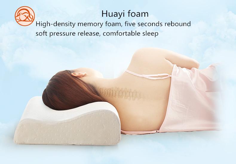 Hot Sale Good Use Memory Foam Neck Roll Pillow Buy Memory Foam