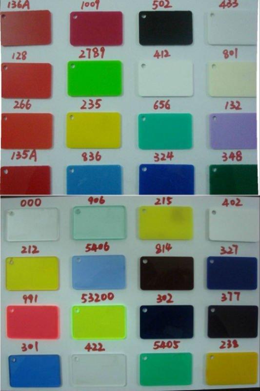 acrylic sheet colors  eassume, coloring