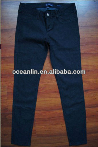 2013 new style fashion women jeans for USA market