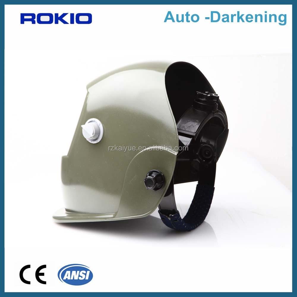 Painting En 379 Auto Darkening Lens Welding Helmet