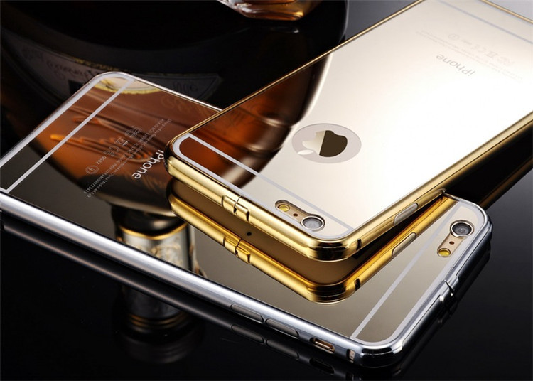 df435dbe623 Hot Products for iphone 6 metal bumper mirror case metal case for mirror  iphone 6 case