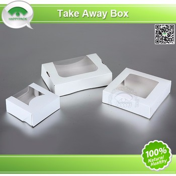 Experienced Factory Food Packaging Box Paper Cake Box Design