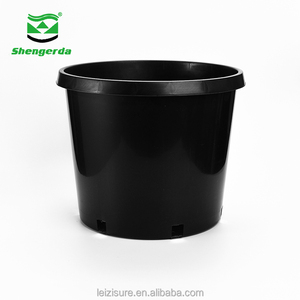 15 20 25 gallon plastic nursery plant pot
