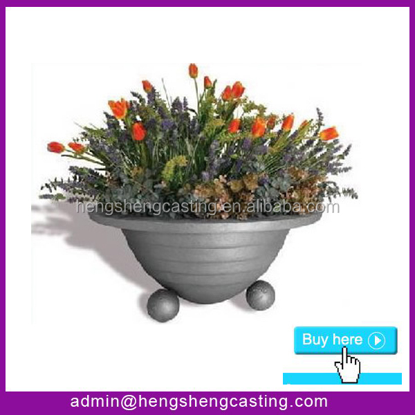 outdoor cast iron decorative planter and urns