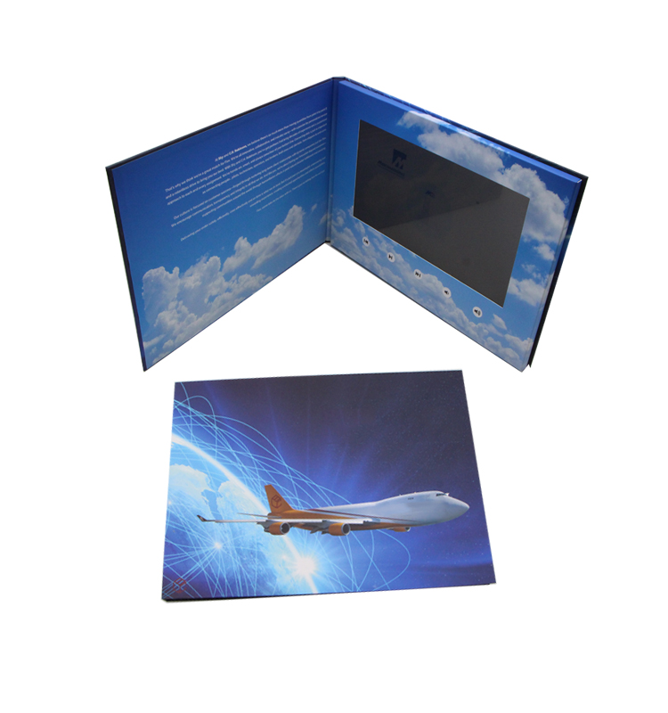 Newest Product LCD Digital Video Business Card With Screen For Advertising