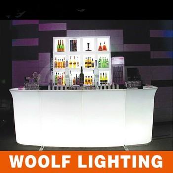 Club Meubelen Led Tafel,Led-verlichting Draagbare Bar,Mobiele Led ...
