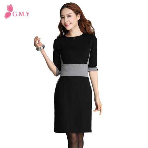 Latest Dress Dresses New Fashion 2016 Office Wear Women