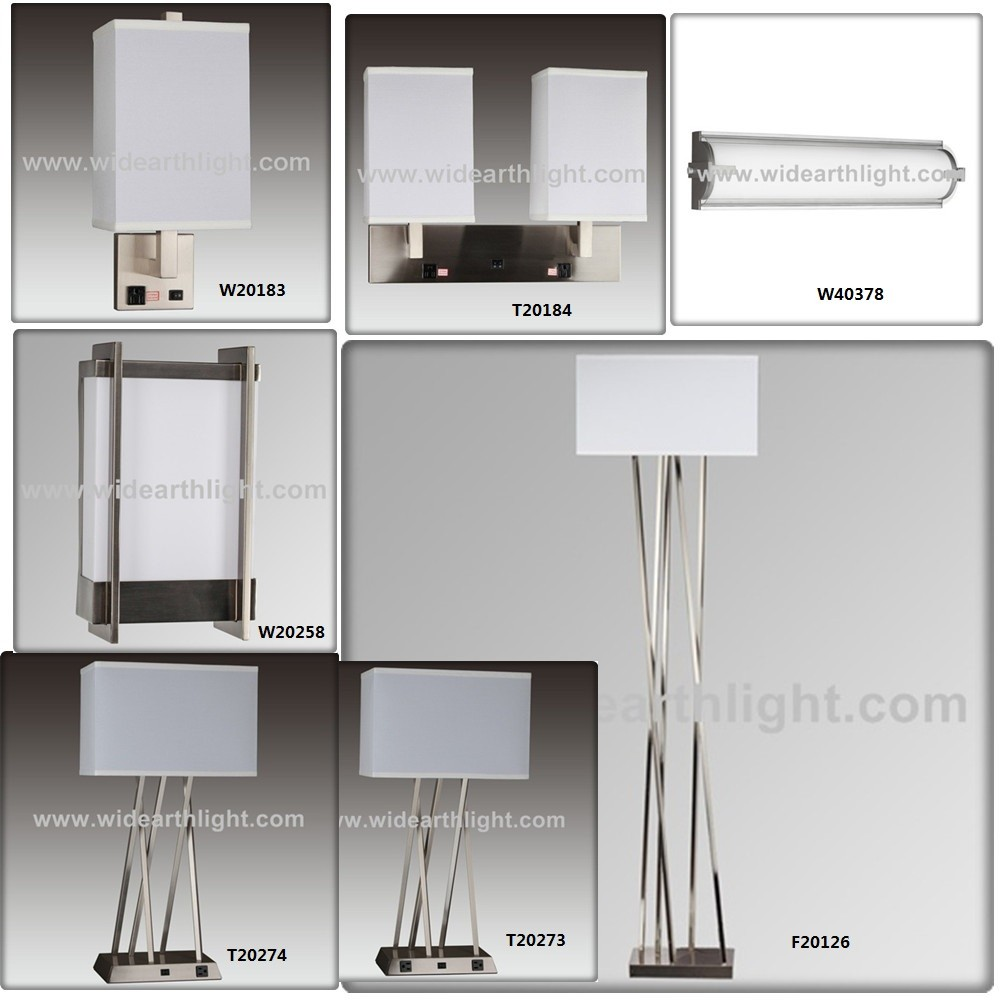 Ul Cul Listed Hot Selling Usa Style Hotel Bedroom Lamp