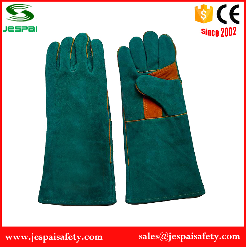 cow split leather heavy duty steiner welding gloves