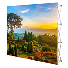 Portable exhibition event booth display pop up backdrop banner stand