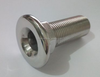 MARINE BOAT YACHT THRU HULL FITTING CONNECTOR STAINLESS STEEL 1/2""