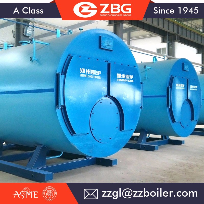 2016 New steam boiler 5MW gas boiler for power plant in Canada