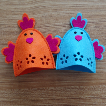 Wholesale felt decoration easter gift 4 pcs easter egg holder wholesale felt decoration easter gift 4 pcs easter egg holder easter egg cover for kid gift negle Image collections