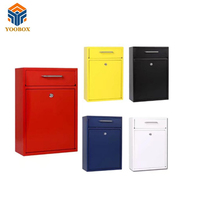 China Supplier Ce Certification Residential American Cast Iron Mailbox