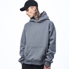 Supreme Quality 100% Cotton Fleece Gym Fitted Pullover Hoodie Custom Design Mens Lifestyle Hoodie OEM