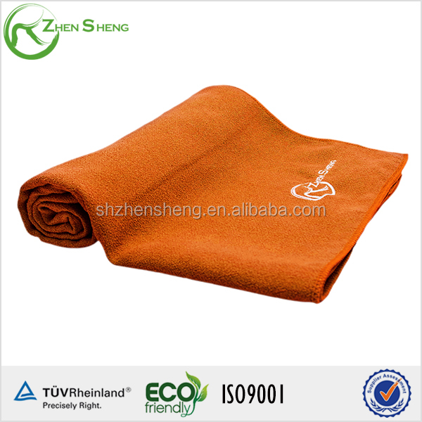 Zhensheng premium microfiber yoga towel for yoga usage