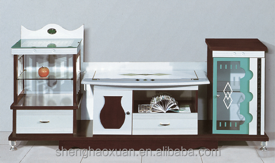 Tv Stand Showcase Designs Living Room : Fancy design tv stand livingroom furniture modern