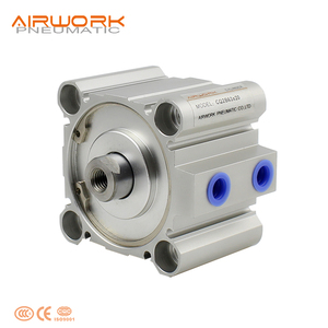 CQ2B Standard Aluminum Compact Pneumatic Air Cylinder Double Acting