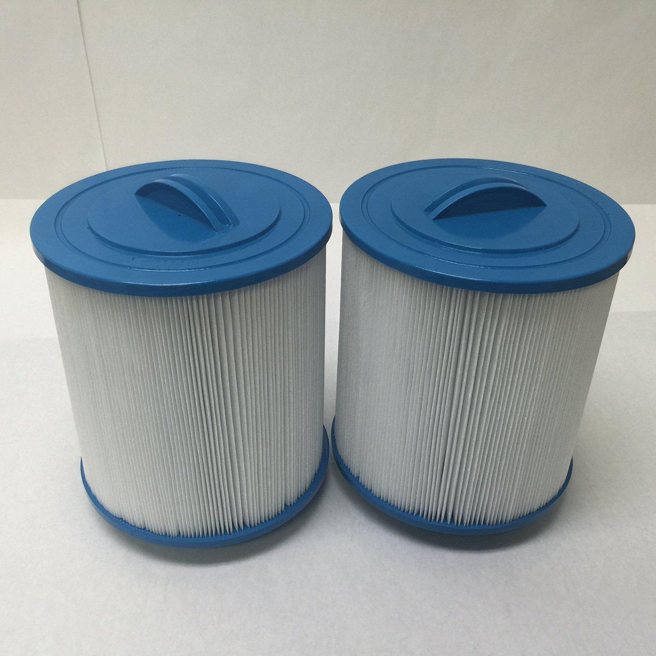 2 PACK GAURDIAN POOL/SPA Filter fits: Pleatco:PAS50SV-F2M, Unicel: 6CH-502, Filbur: FC-031 Artesian spas, MAJESTIC