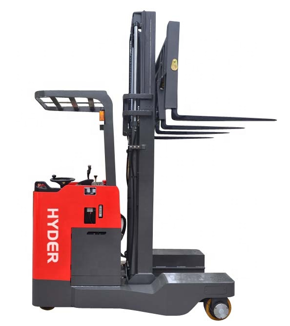 Lift Height 6m Narrow Aisle Forklift 2ton 4-direction Electric Reach Truck  - Buy Narrow Aisle,4-direction,Reach Forklift Product on Alibaba com