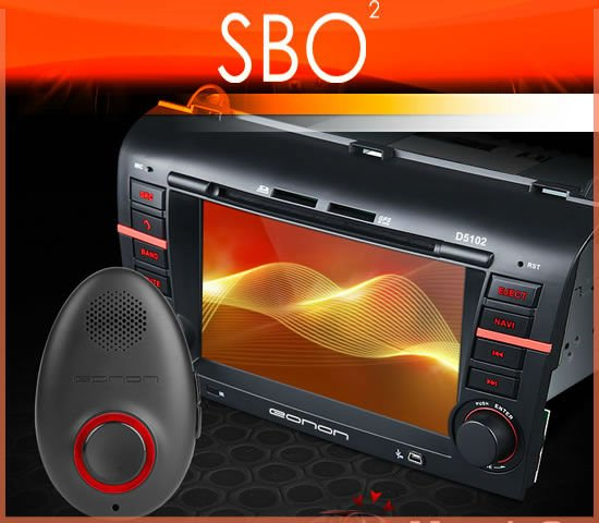 "EONON C5102V 7"" Car DVD/GPS Player with Voice Command VC01 For Mazda 3"