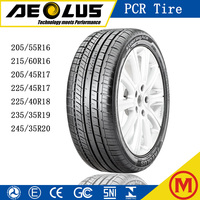 Aeolus with quality Guarantee Radial Passenger Tubeless Tyre UHP High performance car tires