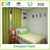 Environmental low VOC chemical resistant washable interior emulsion wall paint