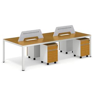 modern italian office desk four peoples