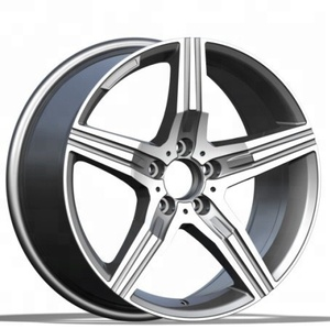 multi sizes special alloy wheels 5x112 car spoke aluminium rims