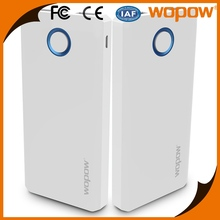 Alibaba best selling power bank 6000mah with CE Fcc Rohs wopow,Long term growth value power bank with usb cord for samsung