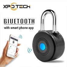 Smart Bluetooth Padlock Master Keys Types Lock with APP Control for Bike Motorcycle Home Door