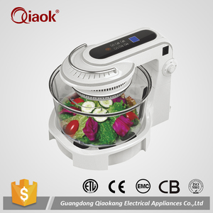 Electric Round Oven Halogen Convection Oven Digital Turbo Oven