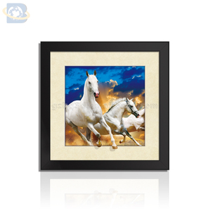 5D lenticular art picture framed 5D picture for home decoration
