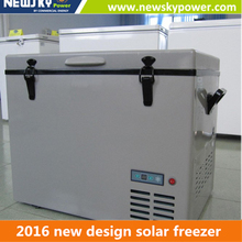 60L battery operated portable refrigerator fridge for car 220v 12v mini deep freezer