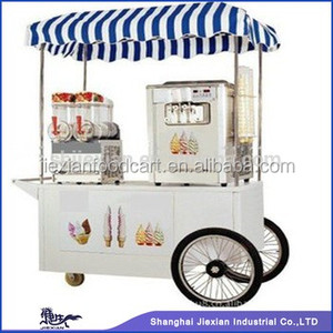 JX-IC160 Mobile ice cream trucks/ food bicycle cart/ gelato cart
