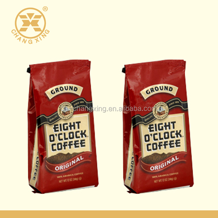 SGS QS Food grade plastic packaging bags, coffee bags with valve