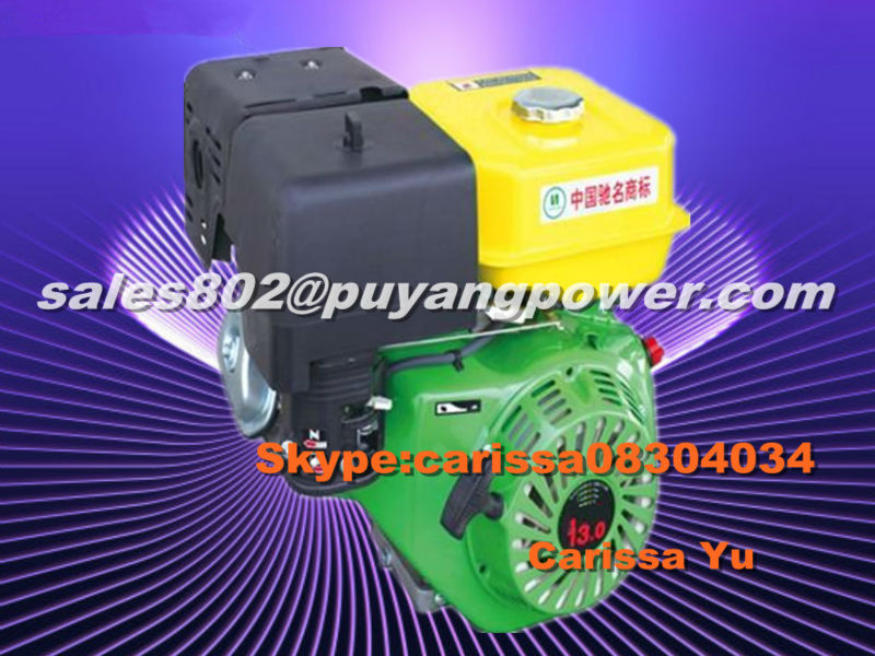 400cc Dry cooling gasoline engine