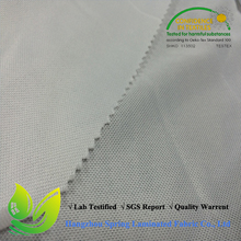 pu/pe coated poly knit stretch fabric for waterproof mattress cover