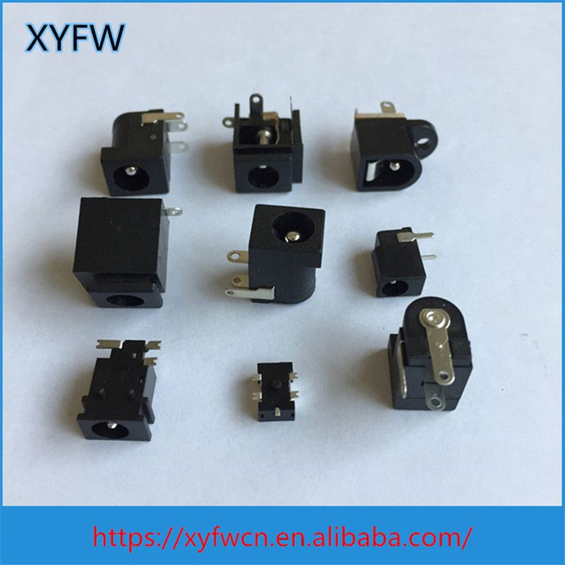 Set Top Box 3.5 Center Pin 5 Pins Pcb Mount Dc Jacks For Audio Devices