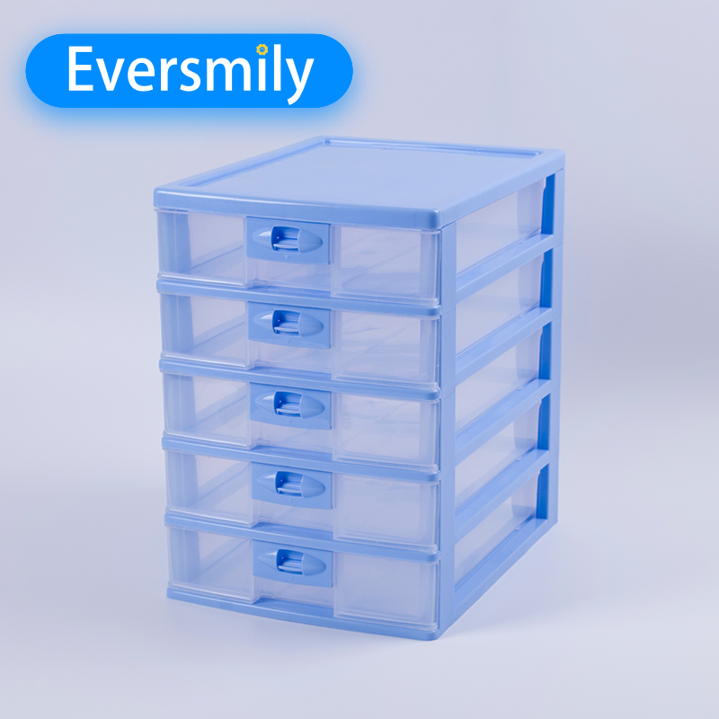 Big organizer office 5 layer storage box paper storage box PP with Drawers