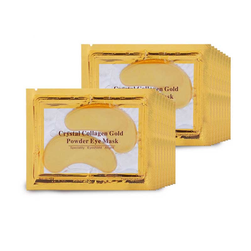 Crystal Collageen Gold Powder Eye Pads Patch Masker Anti Rimpel Aging Oogmasker